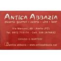 Antica Abbazia, pizzeria Atella, Potenza (PZ)