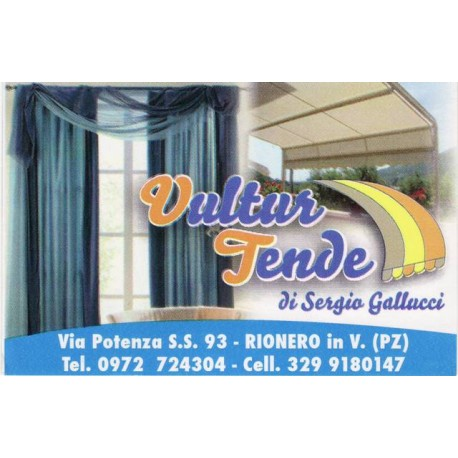 Vultur Tende di Sergio Gallucci -Tende da sole- Intimo- Rionero in Vulture- Potenza