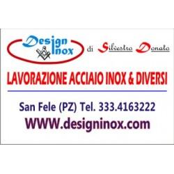 Design inox, lavorazione acciaio inox