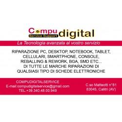 Compudigital Service Support, Centro Assistenza tecnica e vendita cellulari e PC, Calitri, Avellino, AV
