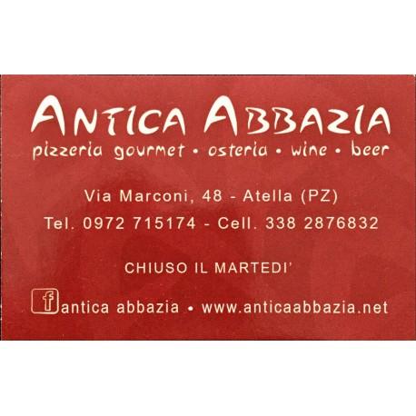 Antica Abbazia, pizzeria Atella